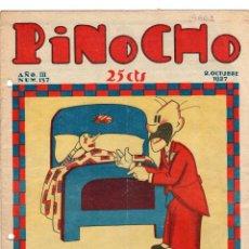 Tebeos: SEMANARIO INFANTIL PINOCHO. Nº 137. 2 OCTUBRE 1927. SATURNINO CALLEJA. Lote 194591438