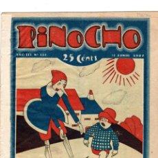 Tebeos: SEMANARIO INFANTIL PINOCHO. Nº 122. 10 JUNIO 1927. SATURNINO CALLEJA. Lote 194592031