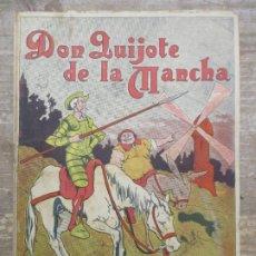 Tebeos: NOVELA EN LAMINAS DON QUIJOTE DE LA MANCHA - PERIQUIN - 1918 - RARISIMO. Lote 194608501