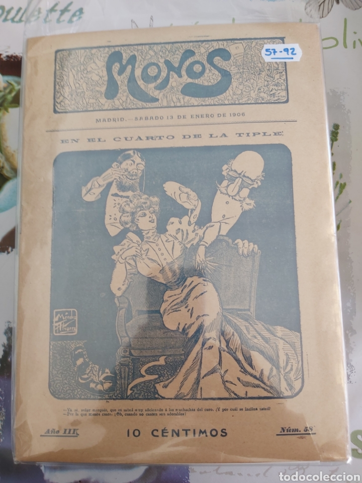 Tebeos: Revista Monos del 57 al 200 gran lote del considerado primer tebeo de España - Foto 3 - 194674190