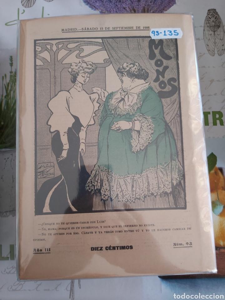 Tebeos: Revista Monos del 57 al 200 gran lote del considerado primer tebeo de España - Foto 4 - 194674190