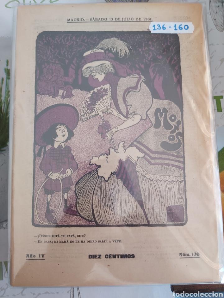 Tebeos: Revista Monos del 57 al 200 gran lote del considerado primer tebeo de España - Foto 5 - 194674190
