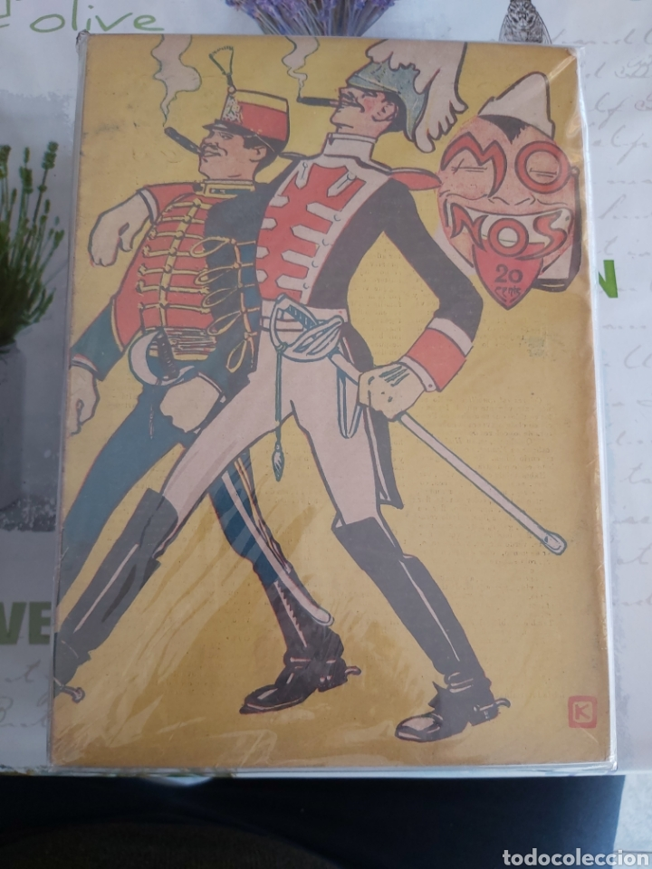 Tebeos: Revista Monos del 57 al 200 gran lote del considerado primer tebeo de España - Foto 6 - 194674190