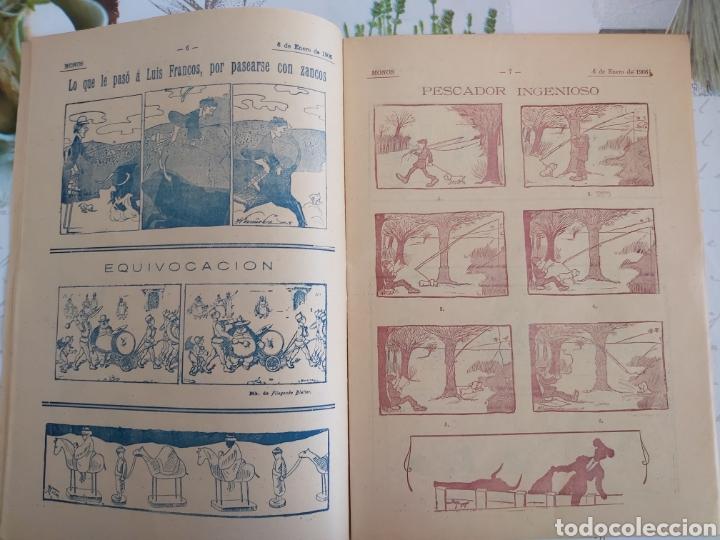 Tebeos: Revista Monos del 57 al 200 gran lote del considerado primer tebeo de España - Foto 15 - 194674190