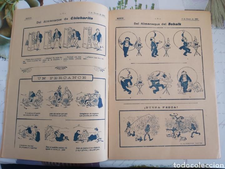 Tebeos: Revista Monos del 57 al 200 gran lote del considerado primer tebeo de España - Foto 16 - 194674190