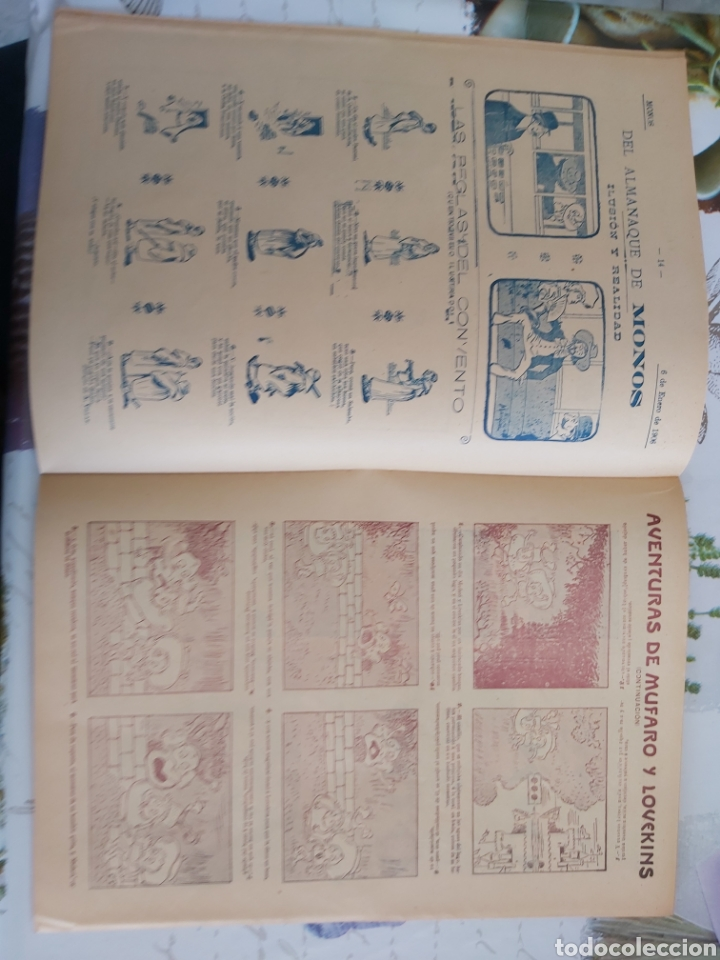 Tebeos: Revista Monos del 57 al 200 gran lote del considerado primer tebeo de España - Foto 19 - 194674190