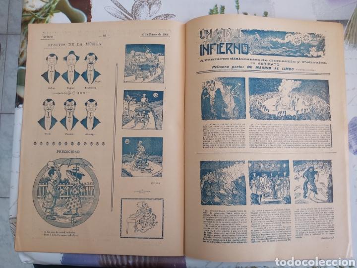 Tebeos: Revista Monos del 57 al 200 gran lote del considerado primer tebeo de España - Foto 20 - 194674190