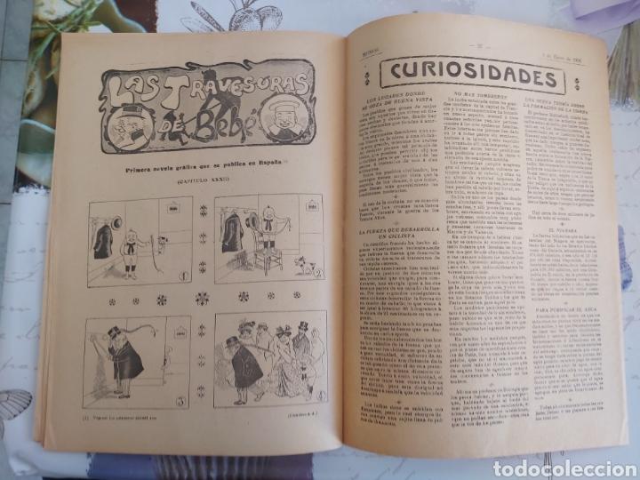 Tebeos: Revista Monos del 57 al 200 gran lote del considerado primer tebeo de España - Foto 23 - 194674190