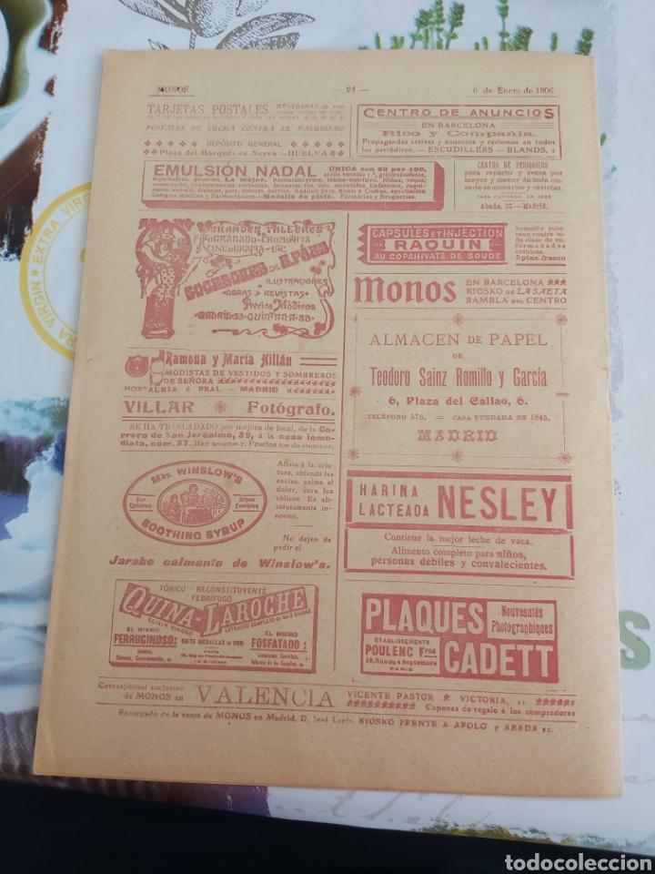 Tebeos: Revista Monos del 57 al 200 gran lote del considerado primer tebeo de España - Foto 24 - 194674190