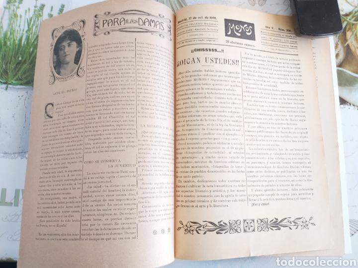 Tebeos: Revista Monos del 57 al 200 gran lote del considerado primer tebeo de España - Foto 26 - 194674190