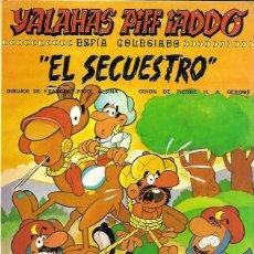 BDs: YALAHAS PIFF IADDO. ESPÍA COLEGIADO. EL SECUESTRO. SAXE 1977. Lote 194683047