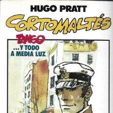 Tebeos: TOTEM-COMICS. NEW COMICS 1986. Nº 11 HUGO PRATT. CORTO MALTÉS. TANGO …Y TODO A MEDIA LUZ. Lote 194683132