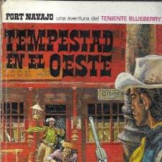 Tebeos: TENIENTE BLUEBERRY. TEMPESTAD EN EL OESTE. BRUGUERA, 1969. Lote 194683162