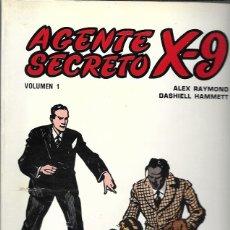 Tebeos: AGENTE SECRETO X-9. EDICIONES B.O. 1979. VOLUMEN 1. Lote 194683163