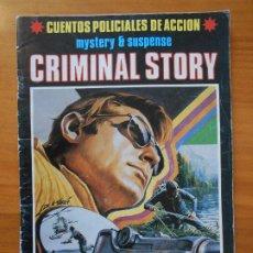 Tebeos: CUENTOS POLICIALES DE ACCION - MYSTERY & SUSPENSE - CRIMINAL STORY - Nº 2 (FH). Lote 194707278