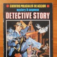 Tebeos: CUENTOS POLICIALES DE ACCION - MYSTERY & SUSPENSE - DETECTIVE STORY - Nº 2 (FE). Lote 194709046
