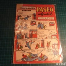 Tebeos: PASEO INFANTIL. Nº 33. MUY CASTIGADO. (M-3). Lote 194745862