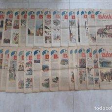 Tebeos: BAYARD LOTE DE 32 REVISTAS COMIC FRANCÉS 1936,UNICO EN TODOCOLECCION.,MÁS 2 DE REGALO.. Lote 183702430