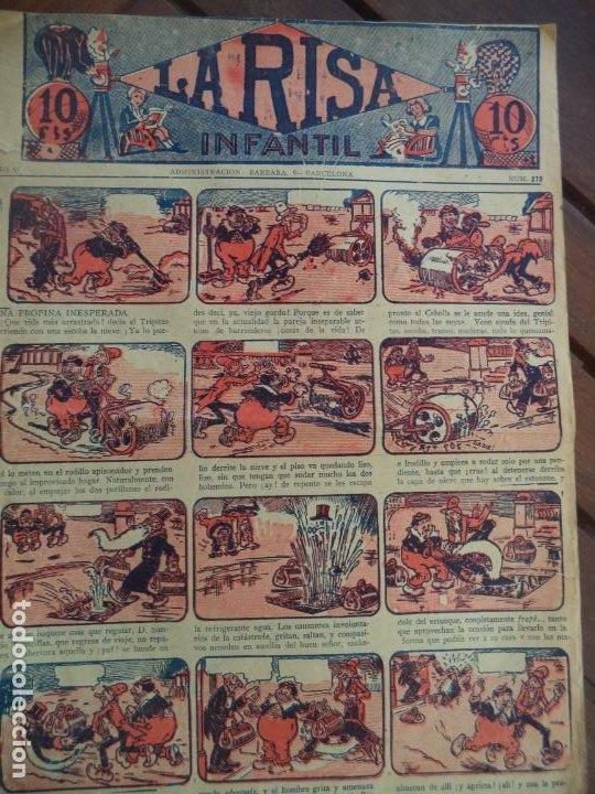 LA RISA INFANTIL AÑO V Nº 272 (Tebeos y Comics - Tebeos Clásicos (Hasta 1.939))