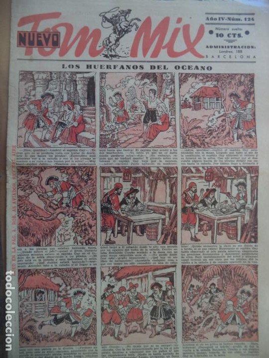 TOM MIX NUEVO AÑO IV Nº 124 (Tebeos y Comics - Tebeos Clásicos (Hasta 1.939))