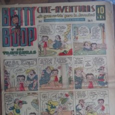Tebeos: BETTY BOOP CINE AVENTURAS AÑO II Nº19. Lote 194767987