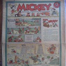 Tebeos: MICKEY AÑO I Nº2 16 DE MARZO 1935. Lote 194768906