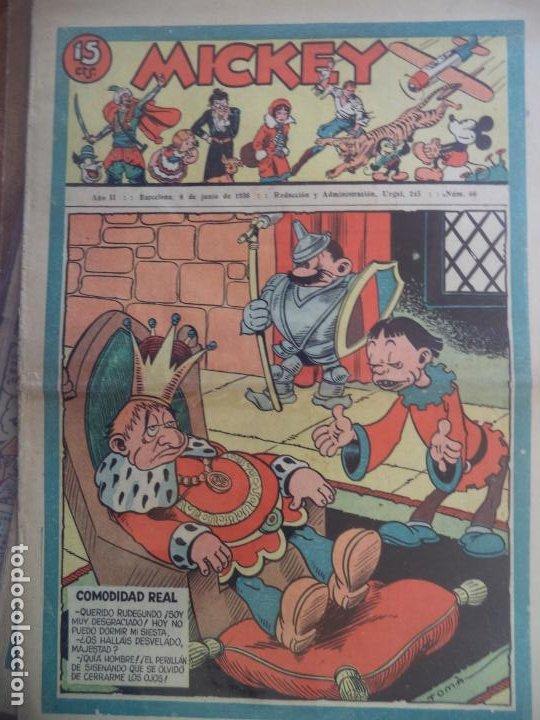 MICKEY Nº66 DEL 6 DE JUNIO DE 1936 (Tebeos y Comics - Tebeos Clásicos (Hasta 1.939))