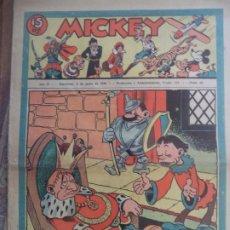 Tebeos: MICKEY Nº66 DEL 6 DE JUNIO DE 1936. Lote 194773270