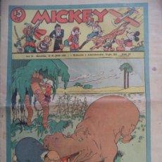 Tebeos: MICKEY Nº 67 DEL 13 DE JUNIO DE 1936. Lote 194774350
