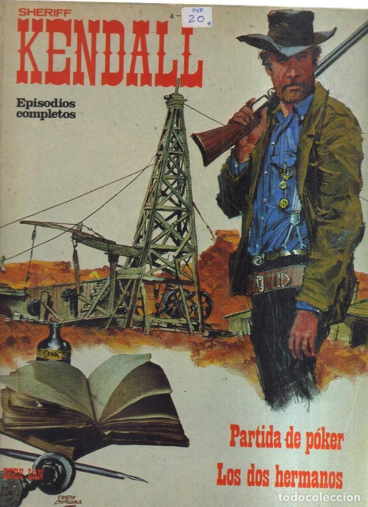 KENDALL SHERIFF EPISODIOS COMPLETOS (Tebeos y Comics - Tebeos Otras Editoriales Clásicas)