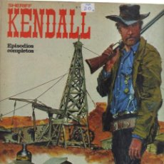 Tebeos: KENDALL SHERIFF EPISODIOS COMPLETOS. Lote 194784678