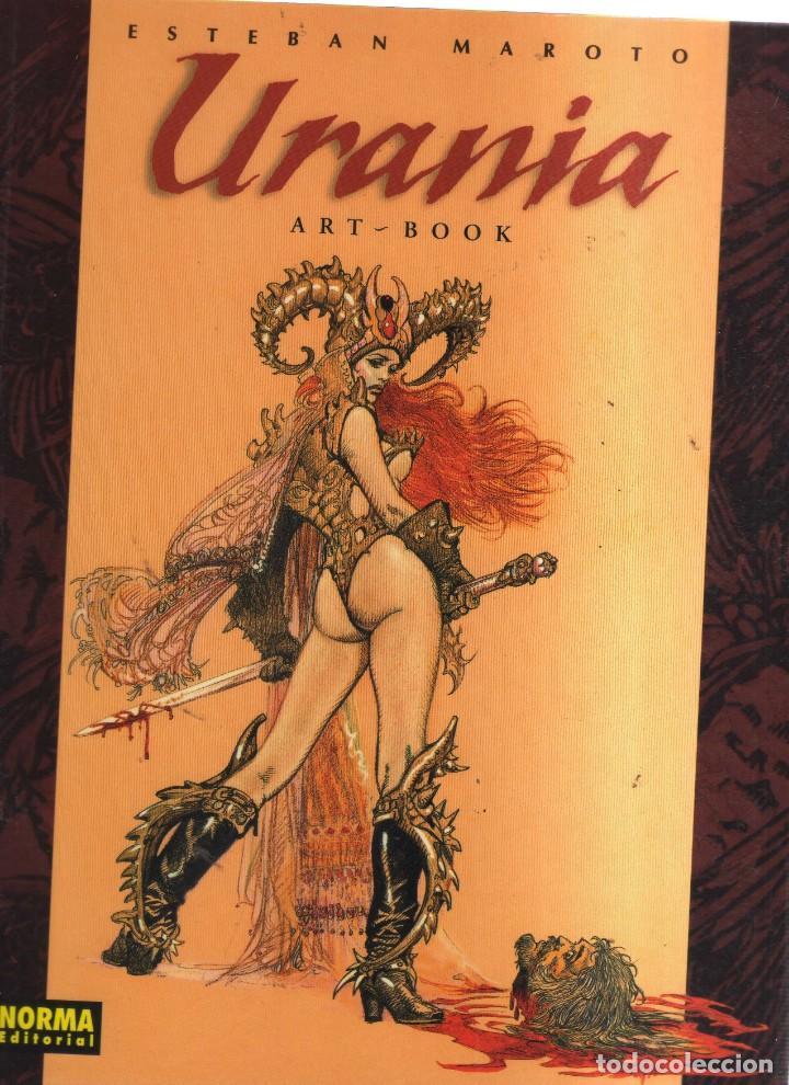 URANIA ART- BOOK ESTEBAN MAROTO (Tebeos y Comics - Tebeos Otras Editoriales Clásicas)
