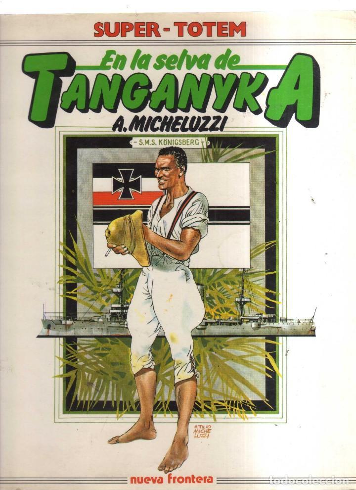 TANGANYKA EN LA SELVA A,MICHELUZZI SUPER - TOTEM (Tebeos y Comics - Tebeos Otras Editoriales Clásicas)
