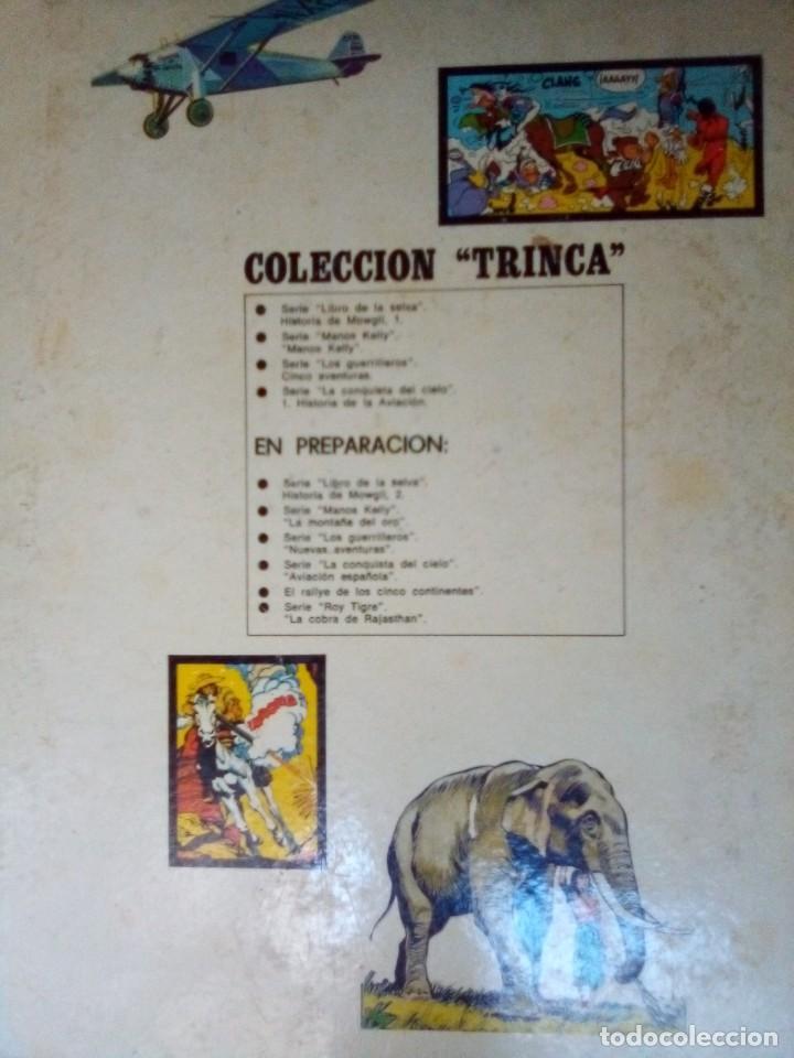 Tebeos: LOS GUERRILLEROS- 5 AVENTURAS- COLECCIÓN TRINCA- Nº 3 - GRAN BERNET TOLEDANO-1972-CORRECTO-LEAN-0172 - Foto 6 - 194788682