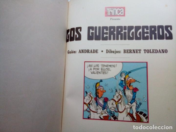 Tebeos: LOS GUERRILLEROS- 5 AVENTURAS- COLECCIÓN TRINCA- Nº 3 - GRAN BERNET TOLEDANO-1972-CORRECTO-LEAN-0172 - Foto 8 - 194788682