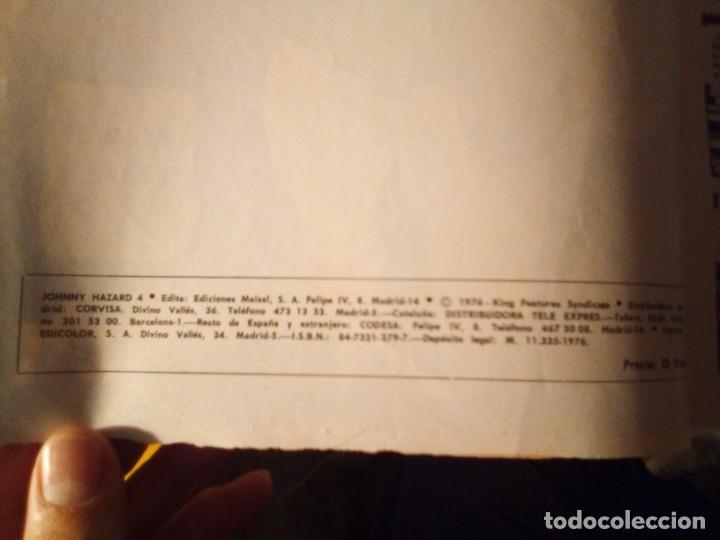 Tebeos: JOHNNY HAZARD -MAISAL- Nº 4 -LA AMENAZA- GRAN FRANK ROBBINS-1975-BUENO-MUY DIFÍCIL-LEAN-3130 - Foto 5 - 194886291
