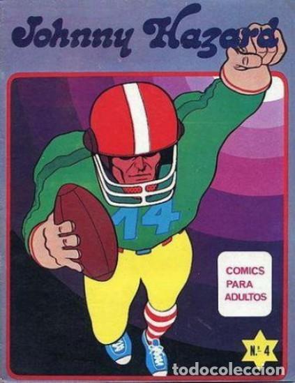 JOHNNY HAZARD -MAISAL- Nº 4 -LA AMENAZA- GRAN FRANK ROBBINS-1975-BUENO-MUY DIFÍCIL-LEAN-3130 (Tebeos y Comics - Tebeos Otras Editoriales Clásicas)