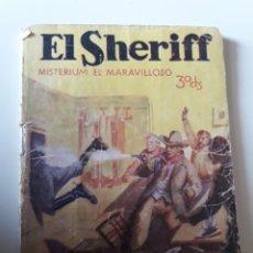 Tebeos: EL SHERIFF MISTERIUM EL MARAVILLOSO 1931 Nº 90 ILUSTRA PEDRAZA PRENSA MODERNA. Lote 194940800