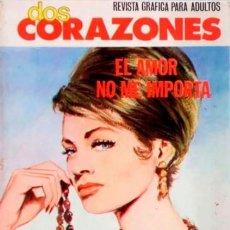 Tebeos: DOS CORAZONES- Nº 34 -EL AMOR NO ME IMPORTA-1980-GRAN CALIDAD-BUENO-MUY DIFÍCIL-LEAN-3140. Lote 195035868