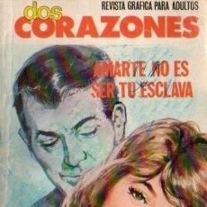 Tebeos: DOS CORAZONES- Nº 37 -AMARTE NO ES SER TU ESCLAVA-1980-GRAN CALIDAD-REGULAR-DIFÍCIL-LEAN-3141. Lote 195036837