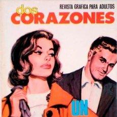 Tebeos: DOS CORAZONES- Nº 40 -UN AMOR QUE DESTRUYE-1981-GRAN CALIDAD-BUENO-DIFÍCIL-LEAN-3142. Lote 195037600