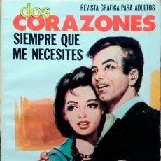 Tebeos: DOS CORAZONES- Nº 43 -SIEMPRE QUE ME NECESITES-1981-GRAN CALIDAD-BUENO-DIFÍCIL-LEAN-3143. Lote 195038746