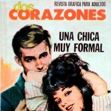 Tebeos: DOS CORAZONES- Nº 48 -UNA CHICA MUY FORMAL-ÚLTIMO COLEC-1981-GRAN J. MASCARÓ-BUENO-DIFÍCIL-LEAN-3147. Lote 195042135