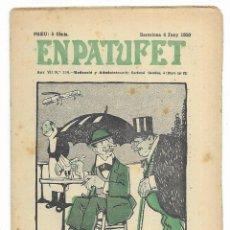Tebeos: EN PATUFET. ANY VII Nº-334 BARCELONA 4 JUNY DE 1910. Lote 195094855