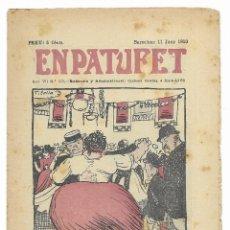 Tebeos: EN PATUFET. ANY VII Nº-335 BARCELONA 11 JUNY DE 1910. Lote 195094926