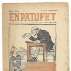 Tebeos: EN PATUFET. ANY VII Nº-336 BARCELONA 18 JUNY DE 1910. Lote 195095027