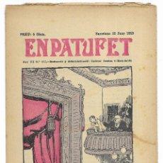 Tebeos: EN PATUFET. ANY VII Nº-337 BARCELONA 25 JUNY DE 1910. Lote 195095092
