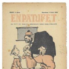 Tebeos: EN PATUFET. ANY VII Nº-338 BARCELONA 2 JULIOL DE 1910. Lote 195095162