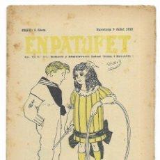 Tebeos: EN PATUFET. ANY VII Nº-339 BARCELONA 9 JULIOL DE 1910. Lote 195095243