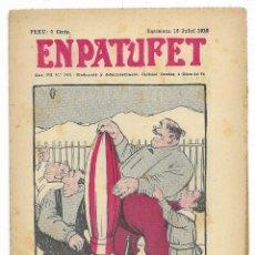 Tebeos: EN PATUFET. ANY VII Nº-340 BARCELONA 16 JULIOL DE 1910. Lote 195095331
